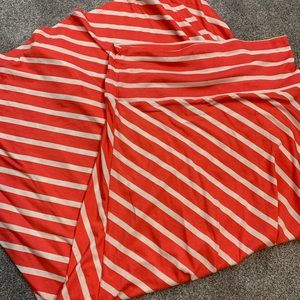 NWOT mossimo striped long skirt